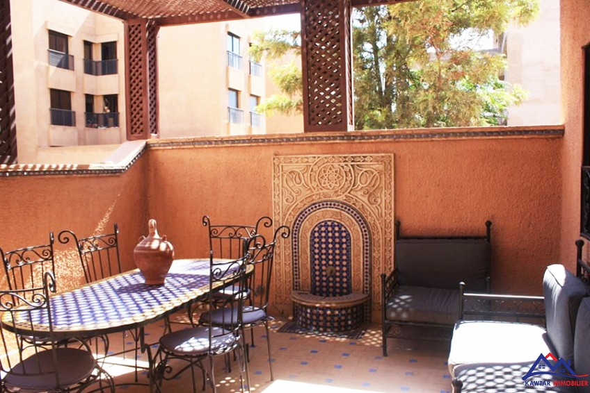 Vente <strong>Appartement</strong> Marrakech Hivernage